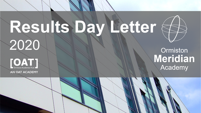 Results Day Letter – 2020