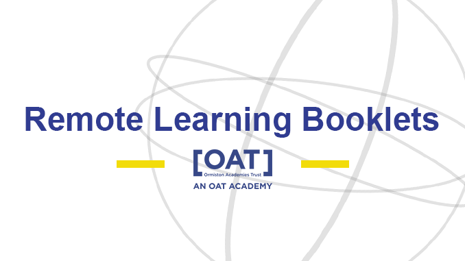 Remote Learning – Information Booklets