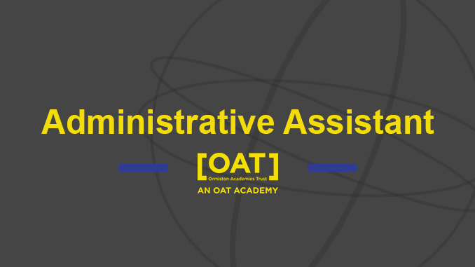 Administrative Assistant – Vacancy