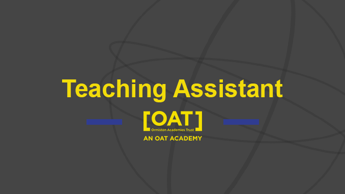 Teaching Assistant – Vacancy